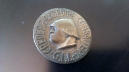 SPILLA - CREDERE OBBEDIRE COMBATTERE - G.I.L. LITTORIO - Militari