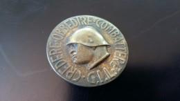SPILLA - CREDERE OBBEDIRE COMBATTERE - G.I.L. LITTORIO - - Militari