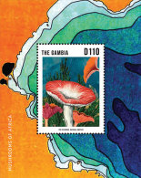 GAMBIA ; SCOTT # 3529 ; IGPC1332 S ; MINT N.H STAMPS ( MUSHROOMS - Gambia (1965-...)