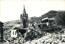 UBAYE Prés SERRE PONÇON  LA FIN Du VILLAGE Avant La Mise En Eau Du Barrage - France