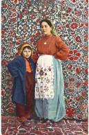 Thème - Muhamedanische Arbeiterinnen - Austellung München 1910 - Danemark ? Costume - Europe