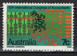 AUSTRALIA - 1972 - 10th Intl. Congress Of Accountants - NUOVO MNH - Nuevos