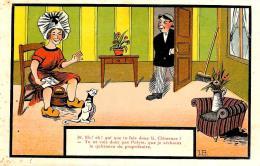 [DC2967] CPA - HUMOR - FIRMATA J. B. - Non Viaggiata - Old Postcard - Humor