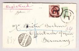 OZ Australien Victoria 9.5.1906 Melbourne  R-Brief Nach Offenbach Deutschland - 1850-1912 Victoria