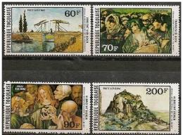 Togo: Dipinti Famosi, Peintures Célèbres, Famous Paintings, F. Goya, A. Durer, V. Van Gogh - Arts