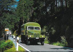 IFA G 5 Werkstattwagen Zum Jöhstädter Oldtimer-treffen Bei Schmaizgrube 2001 - Eine B.B. Karte Aus Sachsen - Camions & Poids Lourds