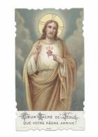 IMAGE PIEUSE.. édit. Bonamy N 447... COEUR SACRE De JESUS, Que Votre Règne Arrive ! - Images Religieuses