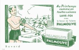 Vieux Papiers - Buvard - Savon Palmolive - Buvards, Protège-cahiers Illustrés