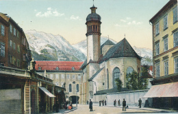 Innsbruck - Hofkirche, # 3907, Von Stengel & Co., - Chromo - Circa 1910 - Innsbruck