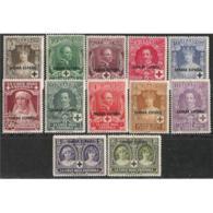 SHR13STV-LFT*13TAN.Sahara,Marruecos .GUINEA ESPAÑOLA CRUZ ROJA 1926 (Ed 13/24*) Con Charnela.MAGNIFICA - 1889-1931 Reino: Alfonso XIII
