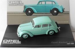 OPEL KADETT K38 1937 1940 IXO ALTAYA 1/43 SKY BLUE BLEU CIEL EAGLEMOSS DIE CAST - Ixo