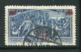 POLOGNE- Y&T N°373- Oblitéré - 1919-1939 Republic