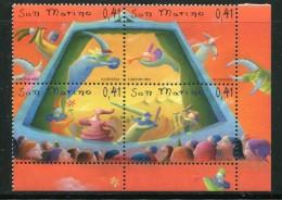 SAINT MARIN- Y&T N°1898 à 1901- Neufs Sans Charnière ** - Saint-Marin