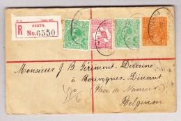 Australien West. Aust. 5.12.1919 Perth R-Ganzsachen Brief Nach Bouvines Belgien - 1854-1912 Western Australia