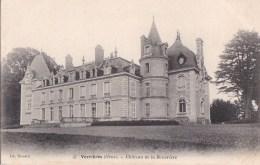 61 VERRIERES  Le Beau CHATEAU De La BEUVRIERE Ses TOURS Et Son PARC - Francia