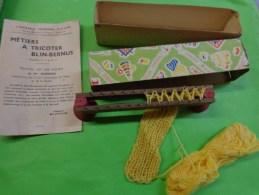 Metiers A Tricoter Blin-bernus Modeles N°1 Et N°2 Librairie Fernand Nathan Pour Les Ecoles - Autres Collections