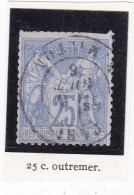 SAGE N°68 + CAD   RUE MILTON / 5 AOUT 1876- REF AC - $$$$$    A SAISIR   $$$$$$ - 1876-1878 Sage (Type I)