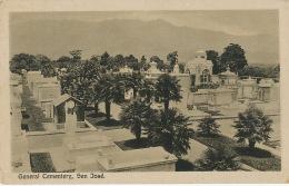 San José  General Cementery Cemetery P; Used 1923 To Freparoy Roussat Nogent Sur Seine France - Costa Rica