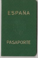 ESPAÑA - SPAIN  - 1960  @@ UNUSED @@ PASSPORT - PASSEPORT - Issued For A FINISTERRE Man - Issued At ARGENTINA Consulate - Documentos Históricos