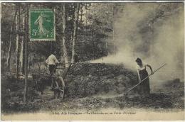 1803- à La Campagne - Le Charbonnier En Forêt D'Orléans - Ed. L. Marchand - Orleans
