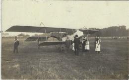 """CARTE-PHOTO - BRIARE - """" Souvenir De L'Aéroplane """" - Briare"""