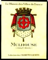 Cigarettes Laurens Blason Des Villes De France Historique Des Armoiries Mulhouse 2 Scans - Sin Clasificación