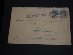 ALLEMAGNE -  Enveloppe De Lutzelstein En 1914 - Affranchissement En Paire - A Voir - L23 - Germany