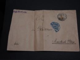ALLEMAGNE -  Enveloppe De Dresde En 1914 - Vignette Au Verso - A Voir - L25 - Germany