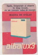 Romanian Small Calendar - 1967 - Albalux 3 - Calendriers