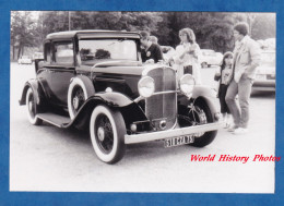 Photo Ancienne - Belle Automobile PONTIAC Six Cylindes Vers 1931 - Rally Paris Vichy 1981