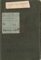 SPAIN - ESPAÑA - 1948 PASSPORT -PASSEPORT -PASAPORTE For LA CORUÑA - Finisterre Lady - Documentos Históricos
