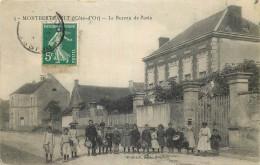 21 - COTE D'OR - Montberthault - Bureau De Poste - France