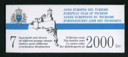 SAINT-MARIN ( CARNET ) : Y&T N° C 1242   CARNET  NEUF  SANS  TRACE  DE  CHARNIERE , A VOIR . - Carnets