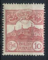 SAINT-MARIN  ( POSTE ) : Y&T N°  36 ?  TIMBRE  NEUF  SANS  TRACE  DE  CHARNIERE , GOMME  D ORIGINE , A  VOIR . - Unused Stamps