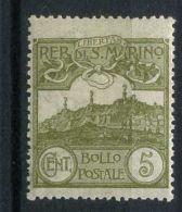 SAINT-MARIN  ( POSTE ) : Y&T N°  69  TIMBRE  NEUF  SANS  TRACE  DE  CHARNIERE , GOMME  D ORIGINE , A  VOIR . - Unused Stamps