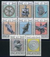 SAINT-MARIN  ( POSTE ) : Y&T N°  865/872  TIMBRES  NEUFS  SANS  TRACE  DE  CHARNIERE , A  VOIR . - Neufs