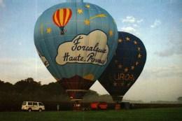 CPM  -  04  -  FORCALQUIER  -    Montgolfières - Balloons
