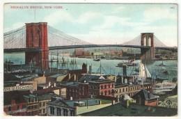 Brooklyn Bridge, New York - Ponts & Tunnels