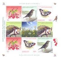 2016. Mountainous Karabakh, Flora & Fauna Of Karabakh, Sheetlet,  Mint/** - Armenia