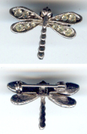 Bijoux-broche_09_Libellule-Dragonfly-Libelle - Brochen
