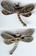 Bijoux-broche_13_Libellule-Dragonfly-Libelle - Brochen