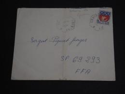 FRANCE - Oblitération Hexagonale Du Croiseur Colbert Sur Enveloppe En 1967  - A Voir - L 46 - Storia Postale