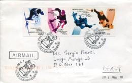 10218 South Korea,  Fdc  Circuled 2006  Skateboarding,