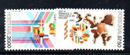 XP23 - PORTOGALLO 1986  ,  N. 1654/55 ***  MNH . CEE - 1910-... República