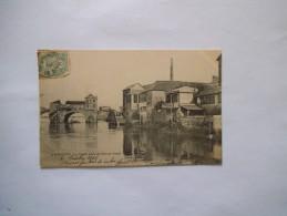 LA VIEILLE ARCHE DU PONT DE PIRMIL 1906 - Nantes