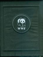 Album WWF (2) Coll.nat. Et Ani Sauv.girage Lycaon Muscivore Marte Amazone Ours Pangolin 4 Tim.neufs 4 Env 1° Jour Fiches - Verzamelingen (in Albums)