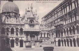 Italy Venezia Cortile del Piazza Ducale