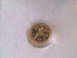 Greece 2016 Gold Coin Greek Mythology POSIDON  UNC
