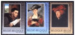 Belgium**RUBENS-VAN EYCK-3vals-1996-Paintings National Gallery London-ART-MNH - Nuovi
