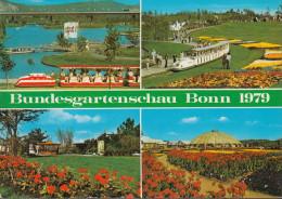D-53111 Bonn - Bundesgartenschau 1979 - Eisenbahn - Train - Bonn